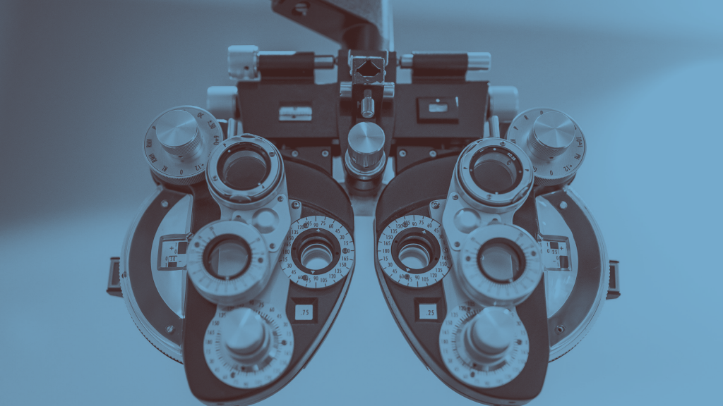 A phoropter is a tool that helps clarify vision.